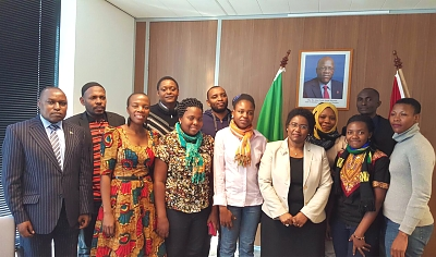 Wegeningen University Students pay a visit to the Ambassador – The Hague – March 2016